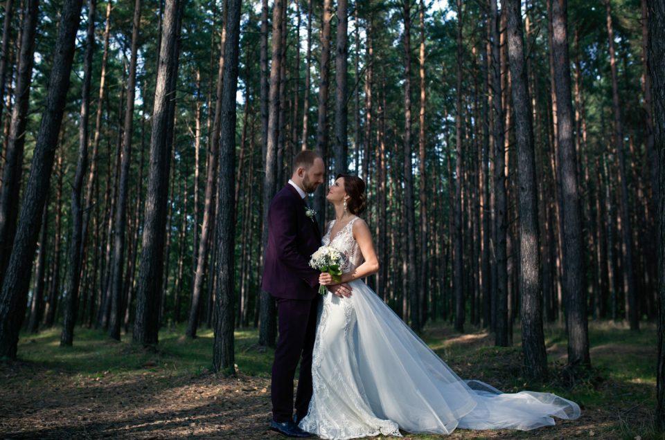 VESTUVĖS | Vestuvių nuotraukos pušingoje Baltijos pakrantėje