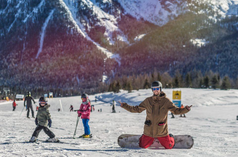 Madonna di Campiglio Alps Italy