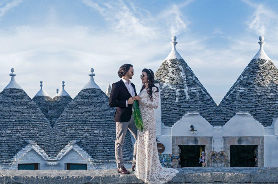 Italijos saulės nubučiuotos vestuvės