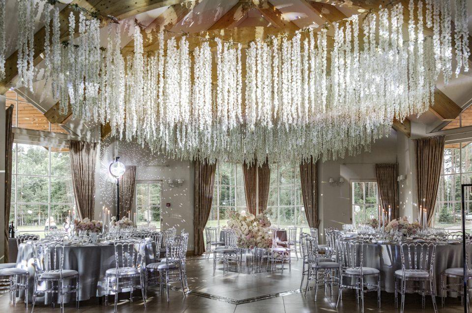 Vestuvių dekoro fotografavimas